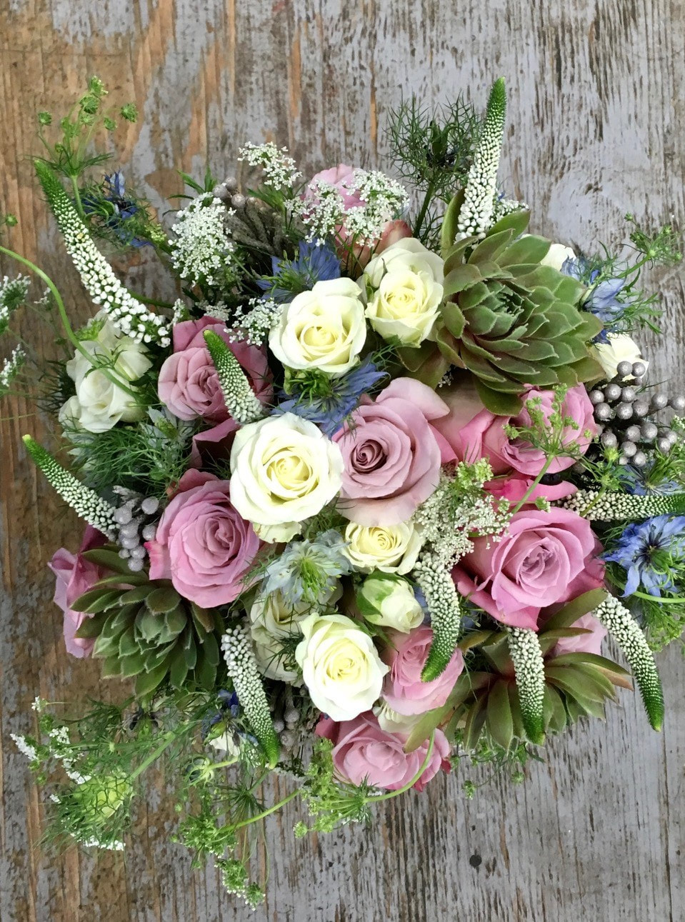 summer-wedding-succulent-bridal-bouquet-petal-and-bud-floral